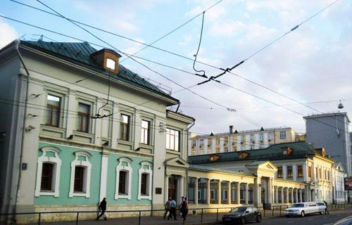 Улица Новая Басманная, 4 в Москве