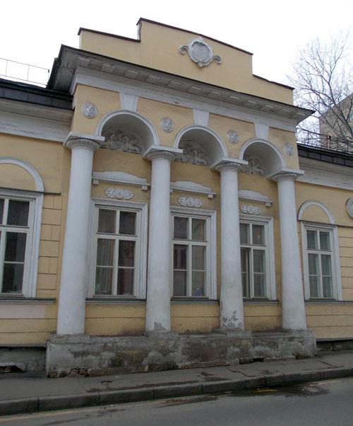 Особняк Штейнгеля-Лопатиных в Гагаринском переулке