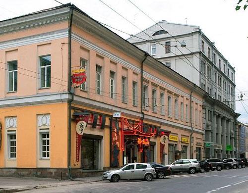 Улица Покровка, дом 38 в Москве