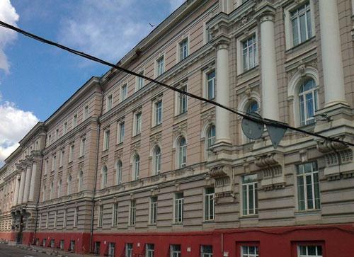 Улица Старая Басманная, 11 в Москве