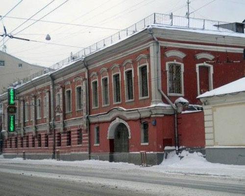 Улица Старая Басманная, 15А - усадьба Голицына