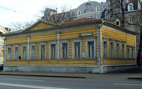 Улица Старая Басманная, 36 в Москве - Дом Кетчер