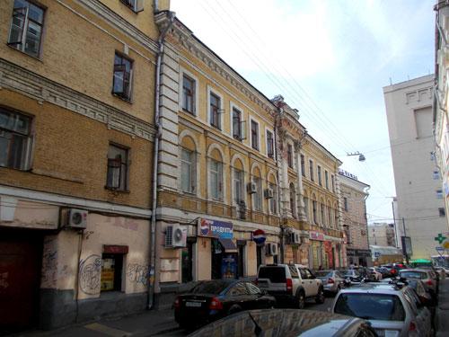 Улица Мясницкая, дом 30 в Москве