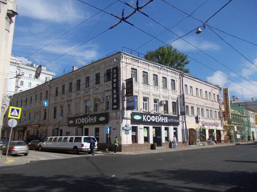 Улица Покровка, дом 21 в Москве
