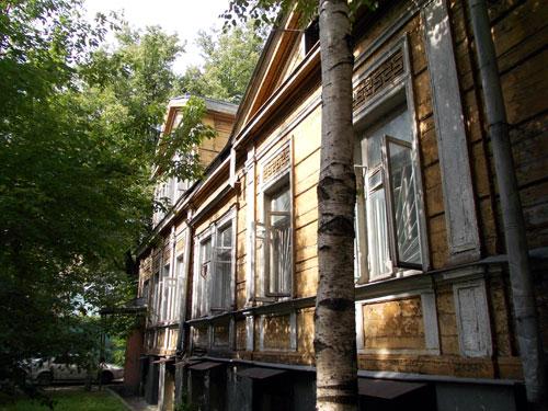 Усадьба Беренса в Гусятников переулке