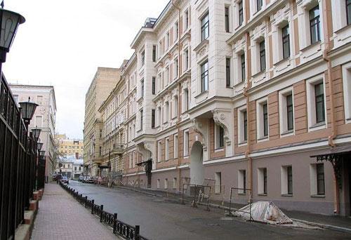 Варсонофьевский переулок, 6 в Москве