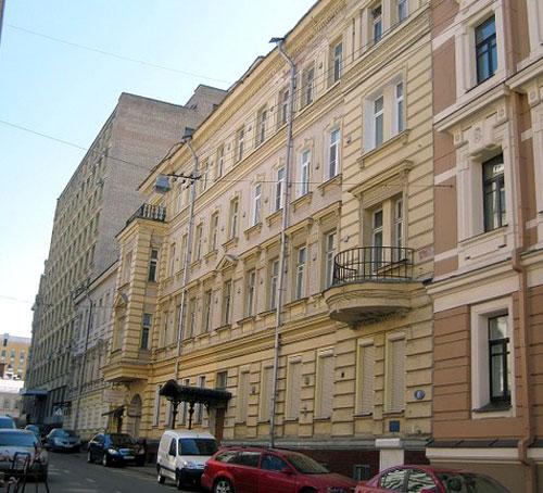 Варсонофьевский переулок, 8 в Москве - Дома Гагарина