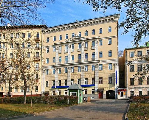 Чистопрудный бульвар, дом 13 в Москве