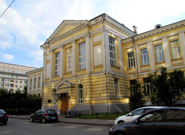 Абрикосовский переулок, 1, строение 1 в Москве