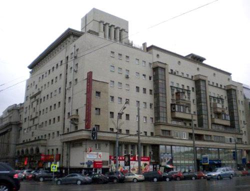 Большая Сухаревская площадь, 14 - Дом Заводстроя