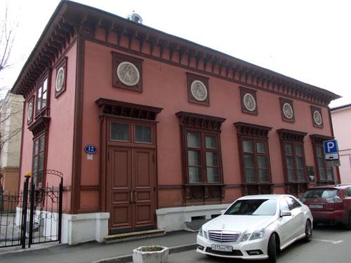 Калошин переулок, 12 в Москве