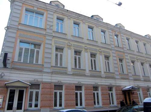 Калошин переулок, дом 4 в Москве