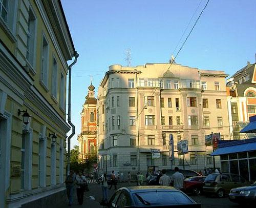 Климентовский переулок, 9 - Дом Эберлина