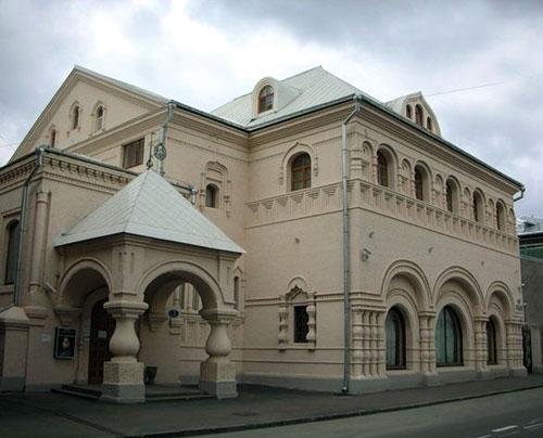 Леонтьевский переулок, 7, стр. 1. Кустарный музей