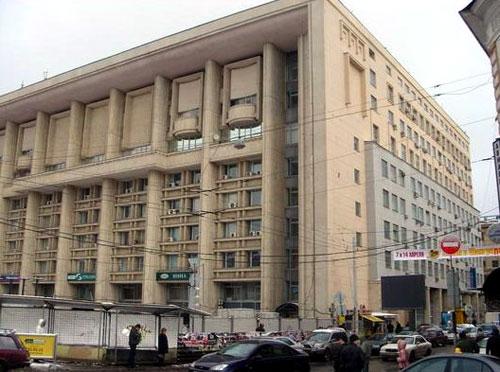 Улица Мясницкая, дом 35 в Москве