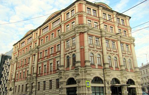 Улица Мясницкая, 48 в городе Москве