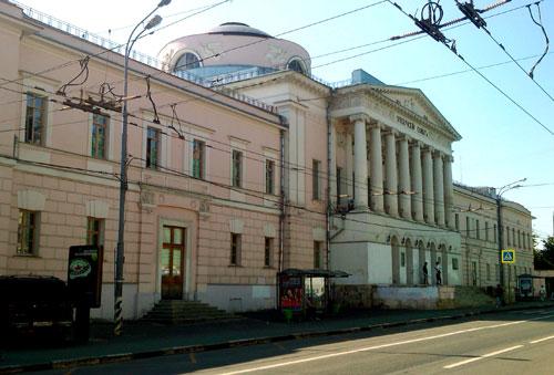 Улица Солянка, дом 14а в Москве