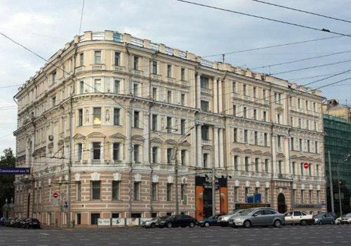 Пречистенка 39 - Зубовский бульвар 22 - Доходный дом Лихутина