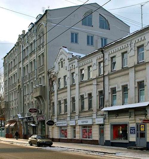 Пятницкая, 10 - Дом Григорьева