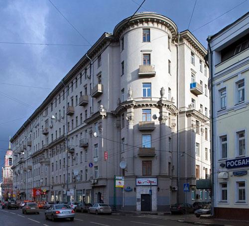 Улица Пятницкая, 53/18, строение 1 в Москве