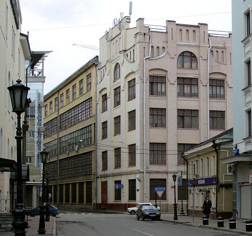 Улица Пятницкая, 71 - Типография Сытина