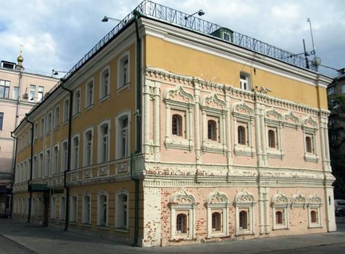 Раушская набережная, 22 - Палаты Щербатова в Москве