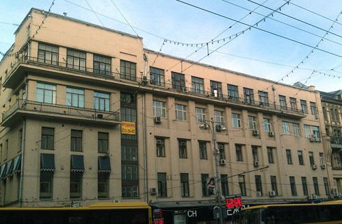 Гостиница Шевалдышева на Тверской улице, 12, строение 2 в Москве