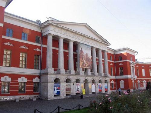 Тверская, 21 - Бывшее здание английского клуба на Тверской в Москве