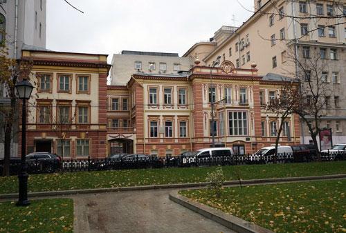 Дом Ермоловой на Тверском бульваре, 11 в Москве