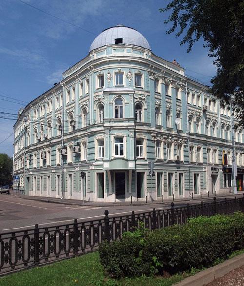 Тверской бульвар, дом 7 в Москве - Романовка