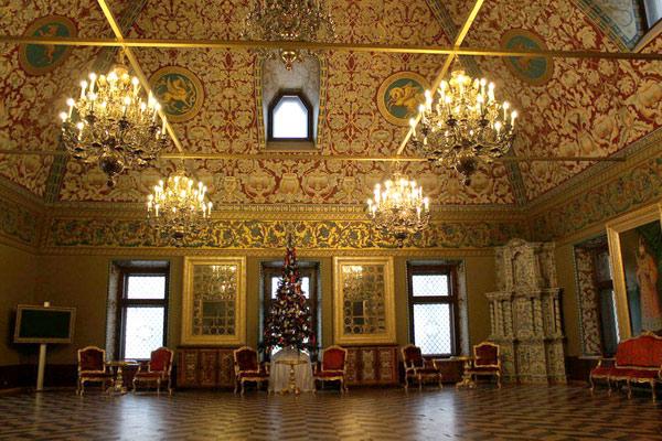 Интерьеры Юсуповского дворца в городе Москве