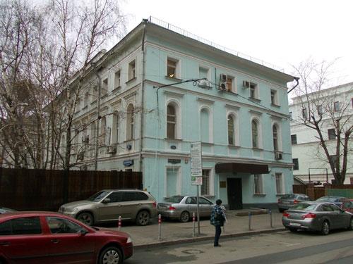 Улица Воздвиженка, 12 - Большой Кисловский переулок, 1 в Москве