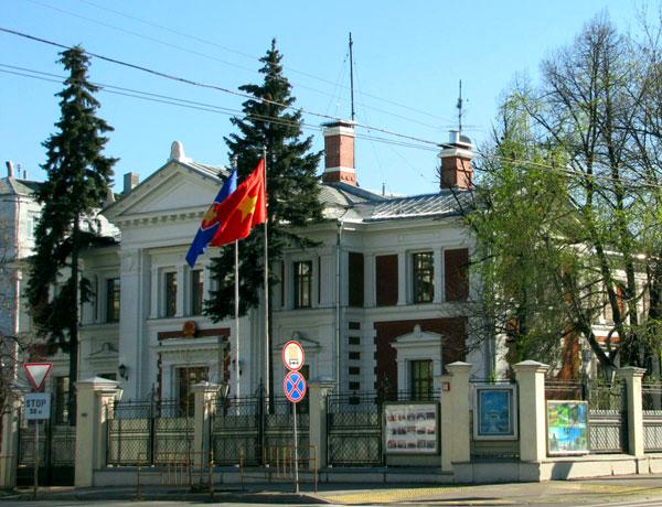 Улица Большая Пироговская, 13 в Москве