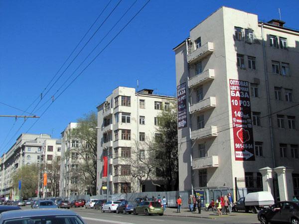 Улица Большая Пироговская, 51 в Москве