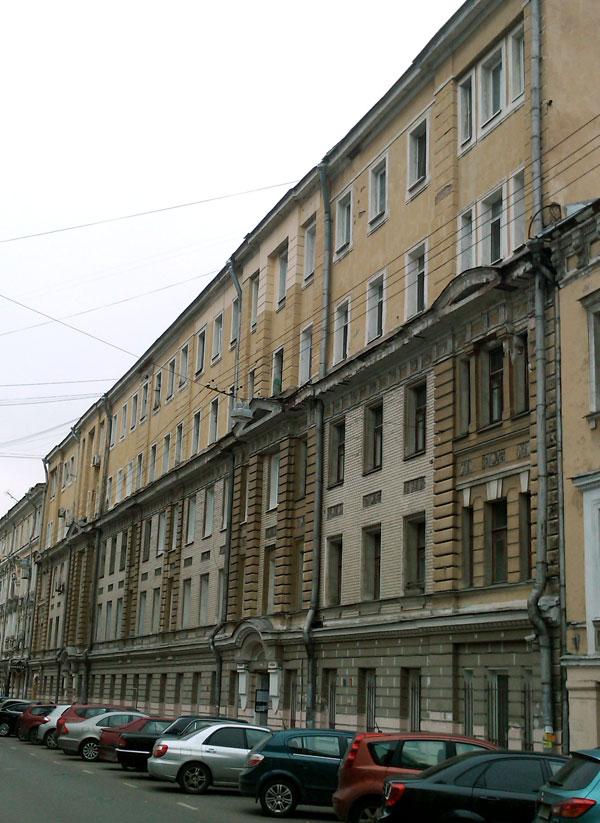 Улица Чаплыгина, дом 8 в Москве