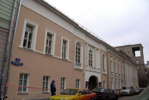 Козицкий переулок, дом 5 в Москве