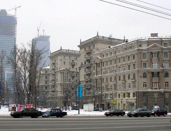 Дом Брежнева на Кутузовском проспекте в Москве