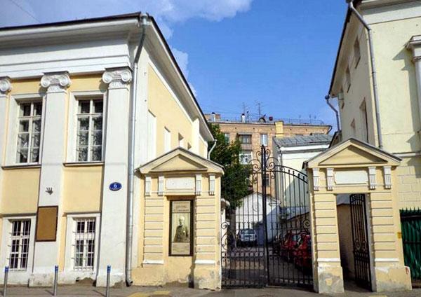 Дом Хлопова-Волкова в Леонтьевском переулке в Москве