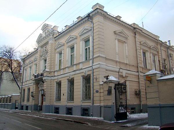 Леонтьевский переулок, дом 10 в Москве
