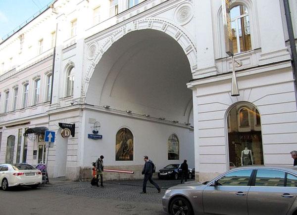 Улица Никольская, дом 19 в Москве