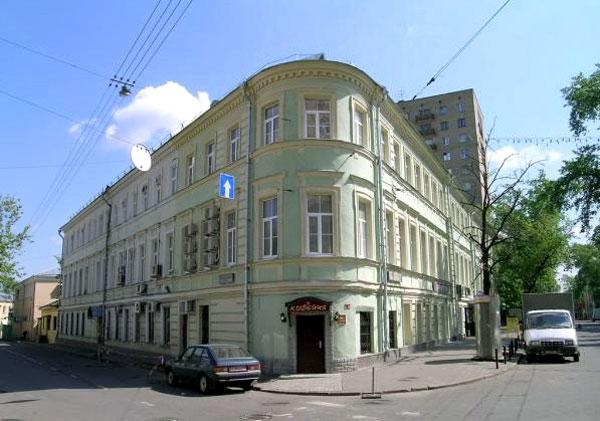 Новая Басманная улица, дом 13 в Москве