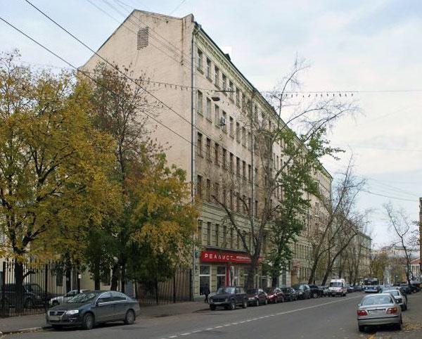 Улица Новая Басманная, дом 31 в Москве