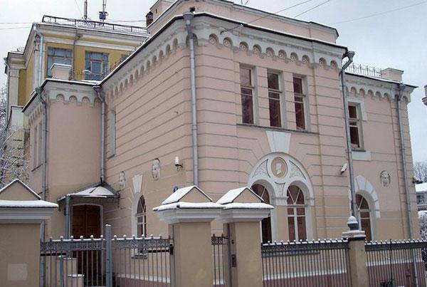 Особняк Юргенскона в Колпачном переулке, дом 9 в Москве