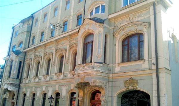 Петровский переулок, дом 8 в Москве