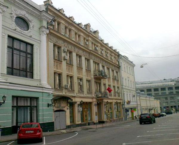 Пушечная улица, 4 в Москве - Гостиница Альпийская Роза