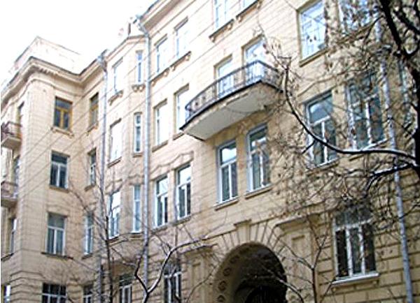 Доходный дом Шереметьева в Романов переулке, дом 5
