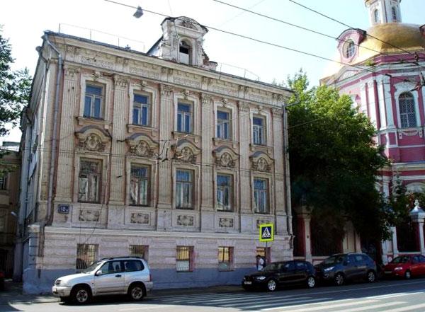 Старая Басманная, дом 18, в Москве