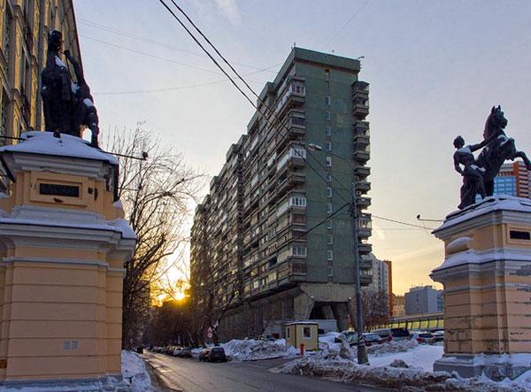 Улица Беговая, дом 34 в Москве