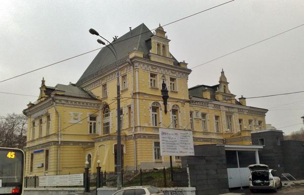 Второй Сыромятнический переулок, дом 11 в Москве