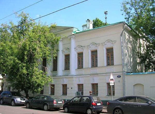 Улица Бахрушина, дом 27 в Москве